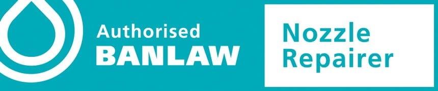 authorised banlaw nozzle repairer logo