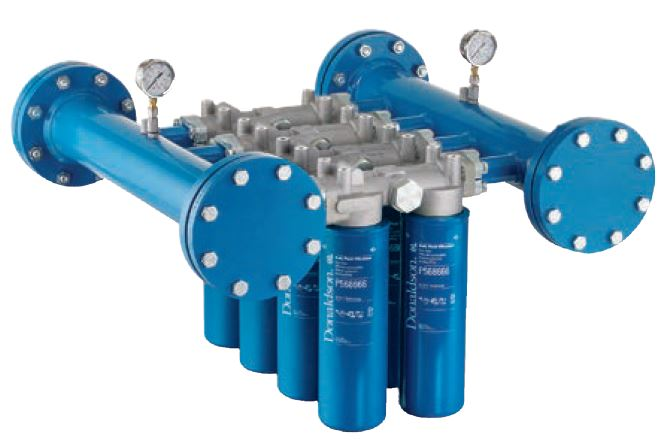 "bulk fluid filtration ""spin-on"" filtration manifold"