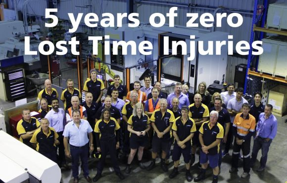 Zero Lost Time Injuries for 5 years at Banlaw