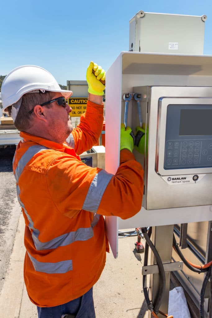 Banlaw Xpress Fuel Management Field Controller can be installed by a single electrician