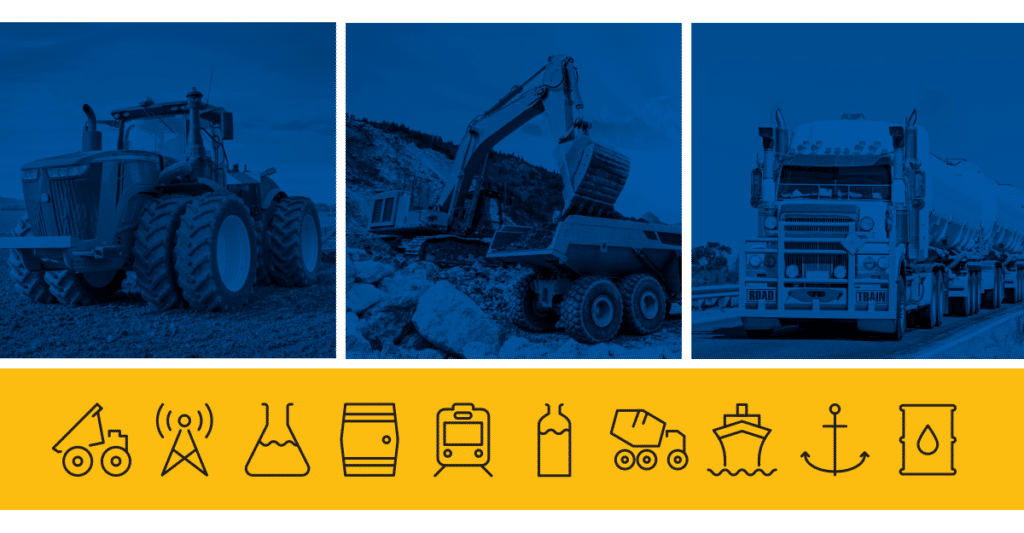 Agriculture, Construction, Road Transport, and Aggregates / Quarries