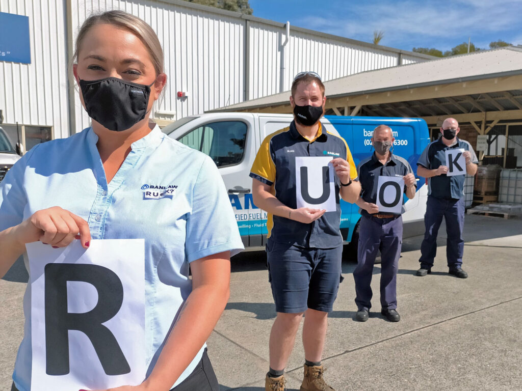 Banlaw team recognising and supporting RU OK Day 2021